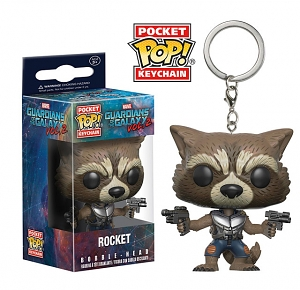 Funko POP Guardian of the Galaxy Vol. 2 - Rocket Keychain