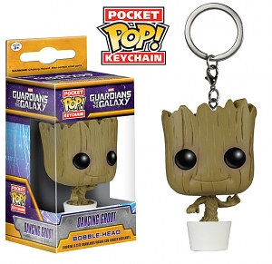 Funko POP Guardian of the Galaxy Vol. 2 - Dancing Groot Keychain