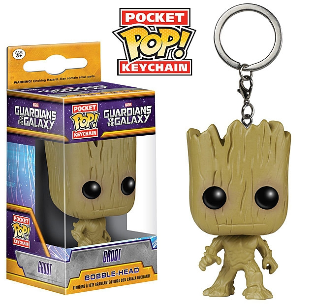 Funko POP Guardian of the Galaxy Vol. 2 - Groot Keychain