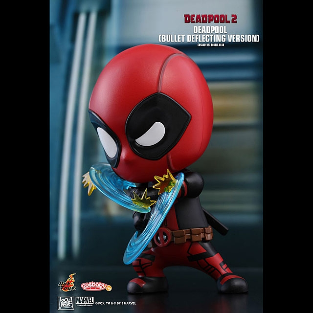 Hot Toys Deadpool Bullet Deflecting Version Cosbaby (S) Bobble-Head