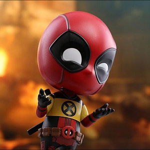 Hot Toys Deadpool X-Men Trainee Version Cosbaby (S) Bobble-Head