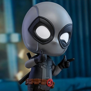 Hot Toys Deadpool Grey Version Cosbaby (S) Bobble-Head