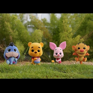 Hot Toys Winnie the Pooh Cosbaby (S) Collectible Set