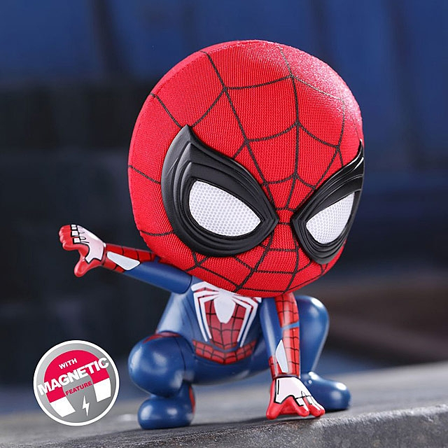 Hot Toys Marvel Spider-Man Crouching Version Cosbaby (S) Bobble-Head