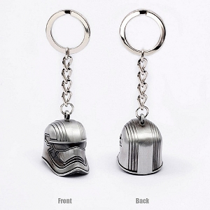 Star Wars 3D Captain Phasma Metal Keychain