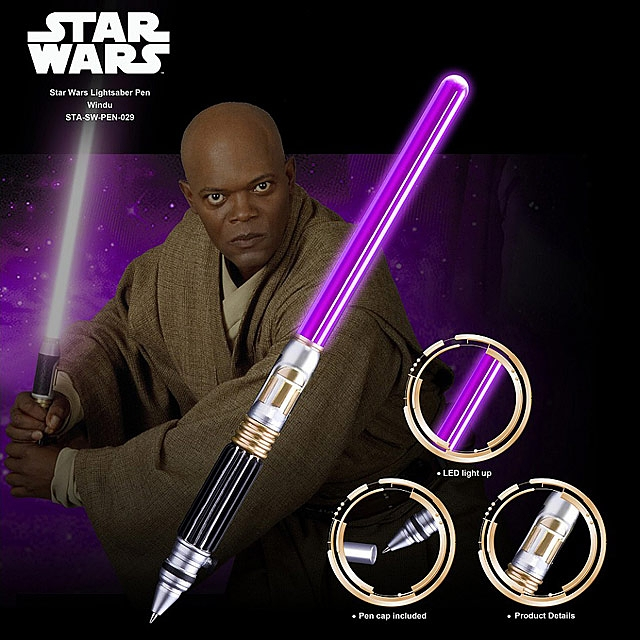 Star Wars Lightsaber Pen - Windu