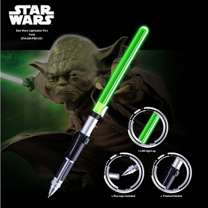 Star Wars Lightsaber Pen - Yoda