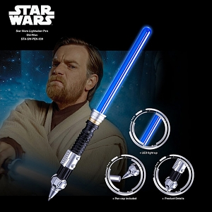 Star Wars Lightsaber Pen - Obi-Wan
