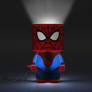 Look-Alite Spider Man 3D LED Mini Keychain