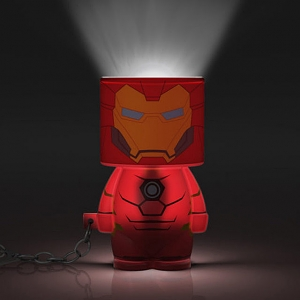 Look-Alite Iron Man 3D LED Mini Keychain