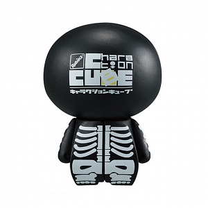 Megahouse Charaction CUBE - Bone Black