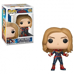 Funko POP Captain Marvel (w/Chase) #425 Action Figure