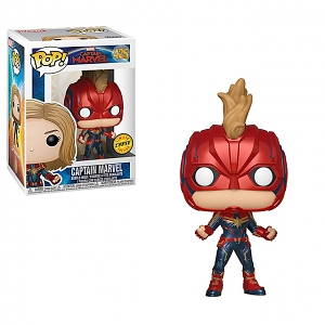 Funko POP Captain Marvel (w/Helmet) #425 Action Figure