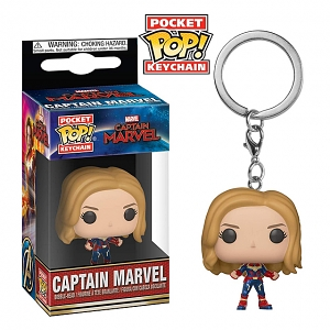 Funko POP Captain Marvel Keychain