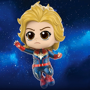 Hot Toys Captain Marvel - Flying Version Cosbaby (S) Bobble-Head