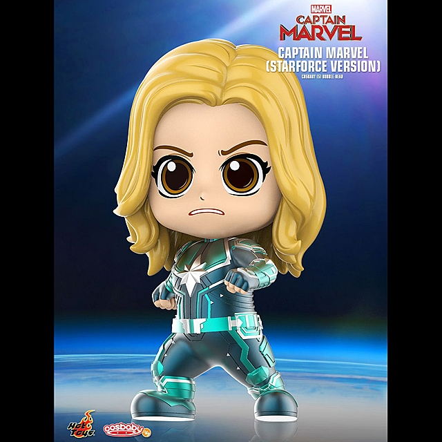 Hot Toys Captain Marvel - Starforce Version Cosbaby (S) Bobble-Head