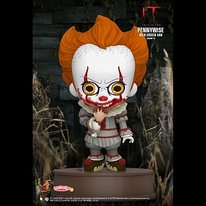 Hot Toys IT Chapter Two - Pennywise with Broken Arm Cosbaby (S) Bobble-Head