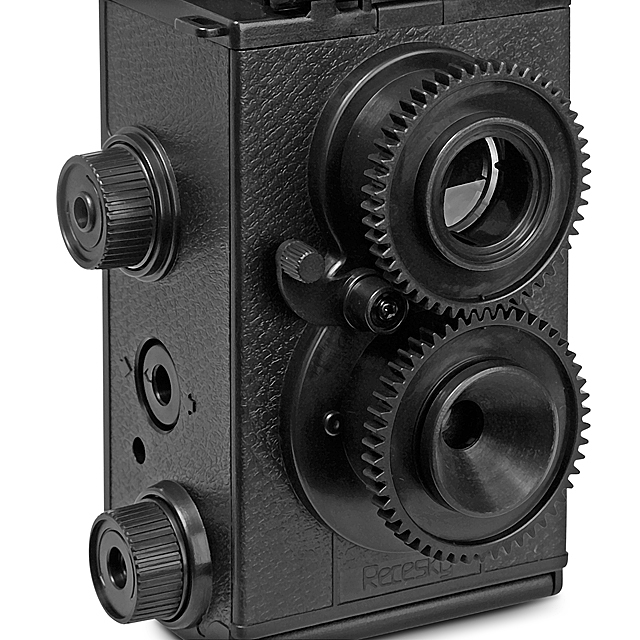 twin lens reflex camera how to use