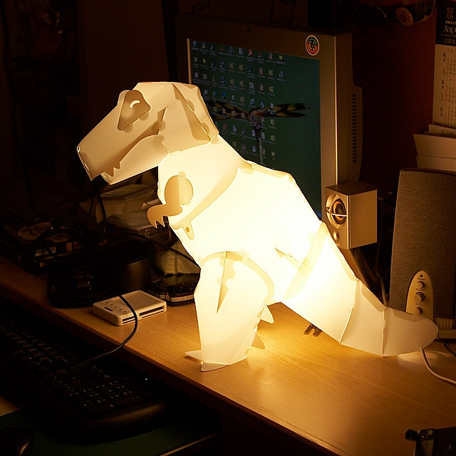 DIY Assemble Dinosaur Lights Set - T REX