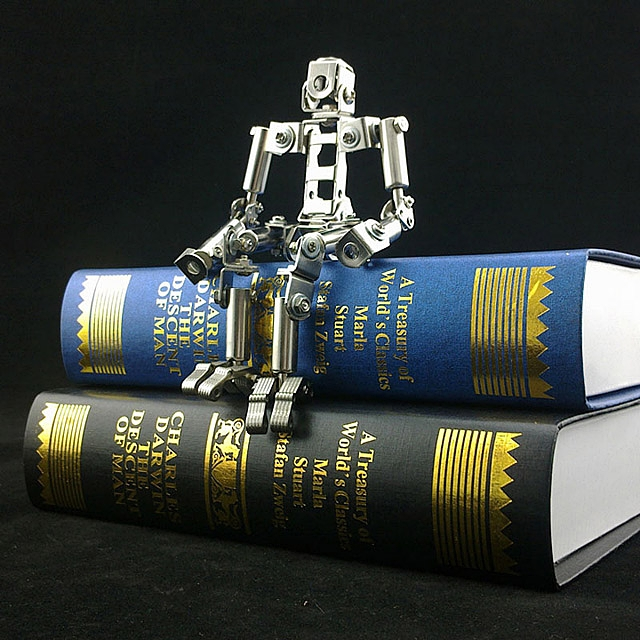 DIY Assemble Metal Mini Robot
