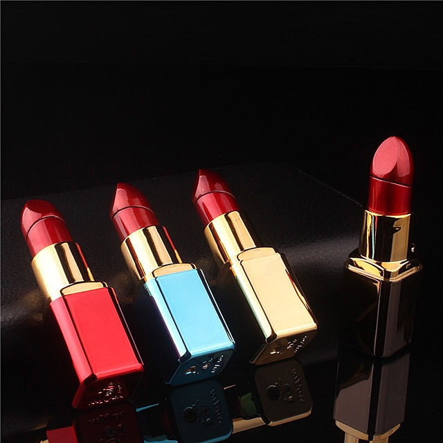 Mini Metallic Lipstick Lighter