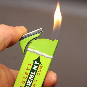Doublemint Chewing Gum Lighter
