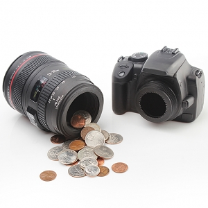 DSLR Bank Len EF 24-105mm Money Box