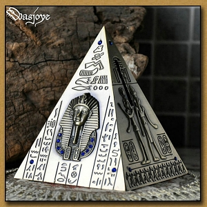 Zinc Alloy Pyramid Money Box