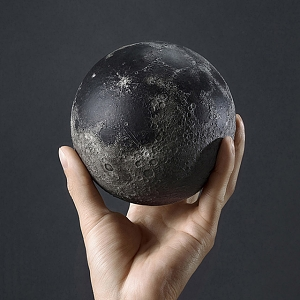 AstroReality LUNAR 3D Printed Scientific Moon Model