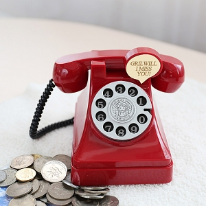 Retro Telephone Money Box