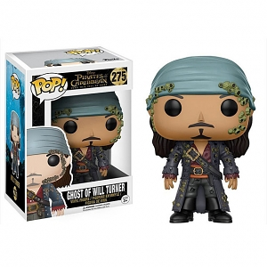Funko POP Pirates of the Caribbean (2017) - Ghost of Will Turner Action Figure
