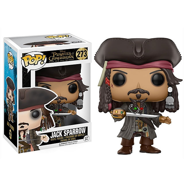 Funko POP Pirates of the Caribbean (2017) - Jack Sparrow Action Figure