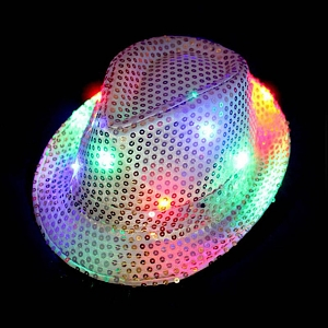 LED Jazz Hat