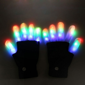 LED Light Finger Gloves II