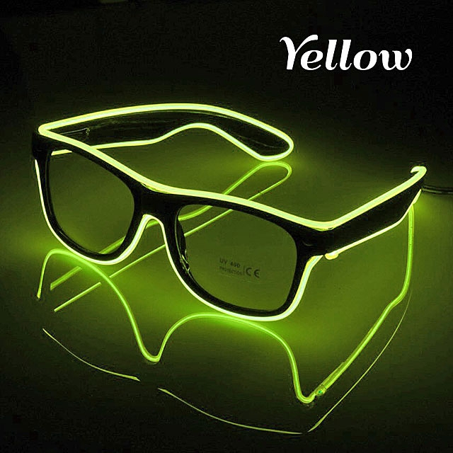 Glowing LED Glasses