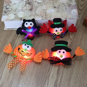 Halloween Cute LED Brooch