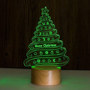 Christmas Tree Line Lamp
