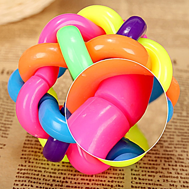 Pet Colorful Bells Ball