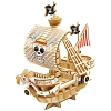 TEAM GREEN Incredibuilds D.I.Y. 3D Puzzle - One Piece Sailing Ship