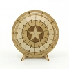 TEAM GREEN Incredibuilds D.I.Y. 3D Puzzle - Captain America Shield
