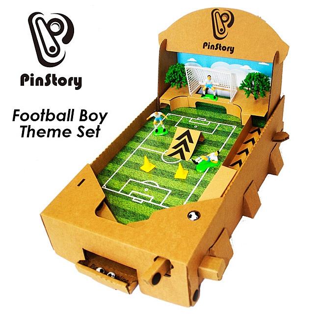 Diy Cardboard Assembling Pinball Board Table Game