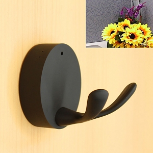 HD Spy Clothes Hook Camera - Black