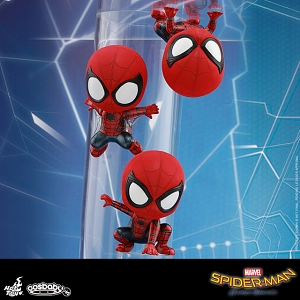 Hot Toys Spider-Man Cosbaby (S) Bobble-Head Collectible Set