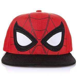 Marvel Spider Man Big Eye Shape Flat Baseball Cap