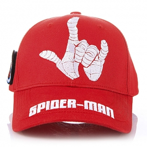 Marvel Spider Man Hand Web Shape Baseball Cap
