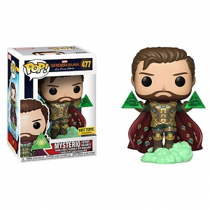 Funko POP Spider-Man Far from Home - Mysterio without Helmet #477 Figure