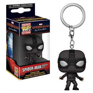 Funko POP Spider-Man (Stealth Suit) Keychain