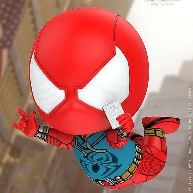 Hot Toys Cosbaby Anti-Ock Suit Spider Man Marvel
