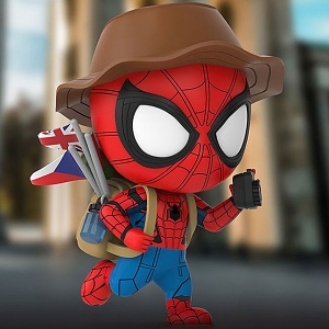 Hot Toys Spider-Man (Travelling Version) Cosbaby (S) Bobble-Head