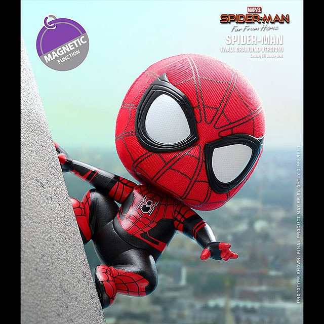 Hot Toys Spider-Man (Wall Crawling Version) Cosbaby (S) Bobble-Head